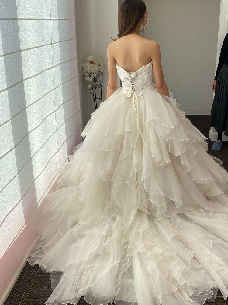 riendウェディングドレス