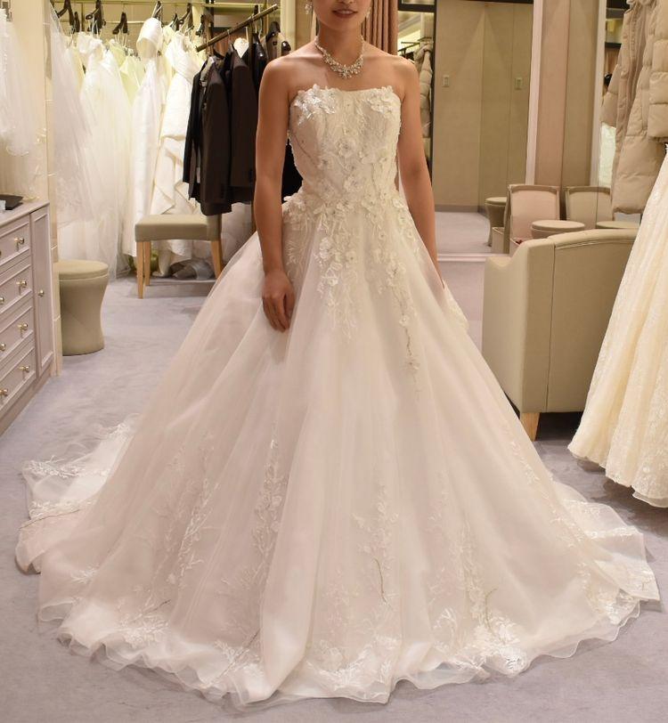 写真映えするドレス!
