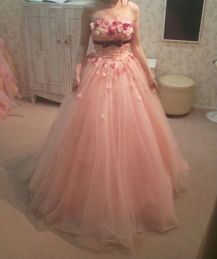 お花が可愛いドレス