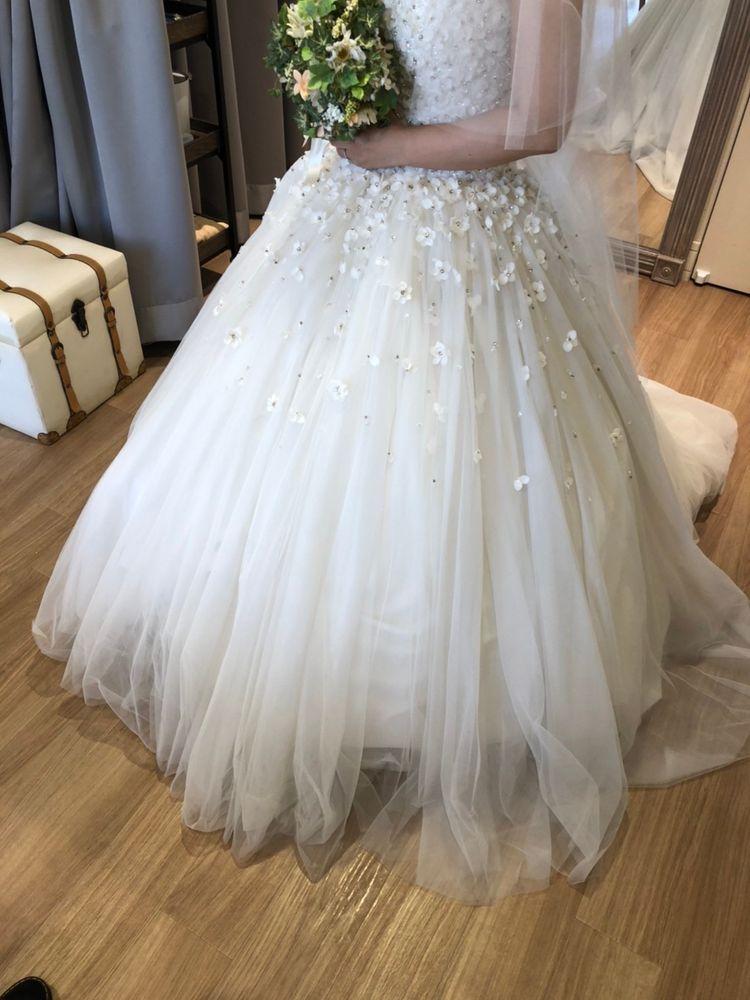 キラキラお花のドレス