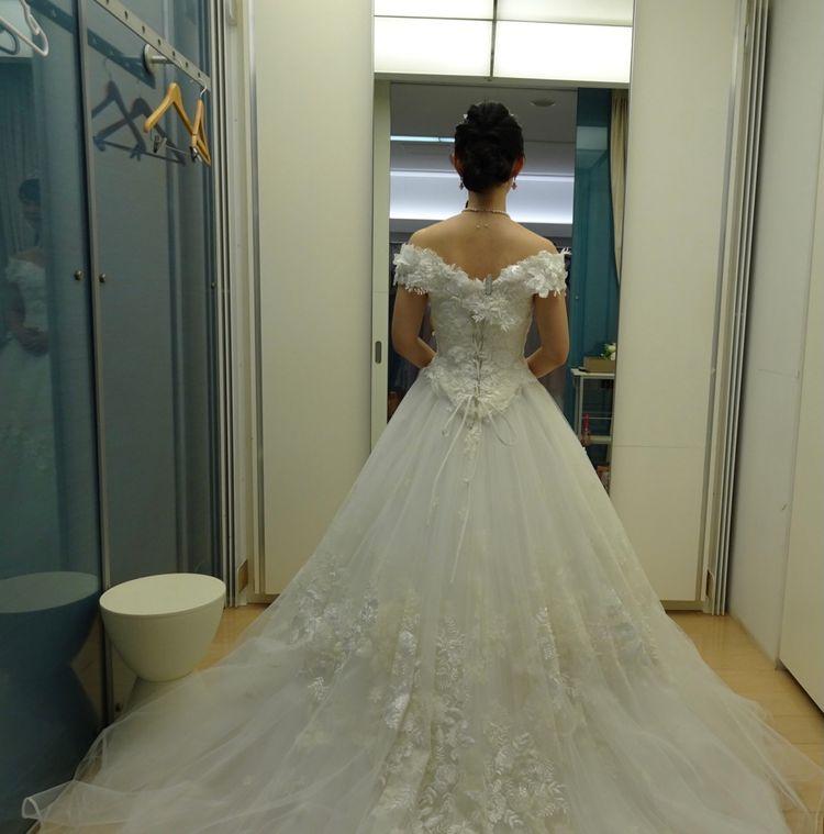上品な王道ウエディングドレス