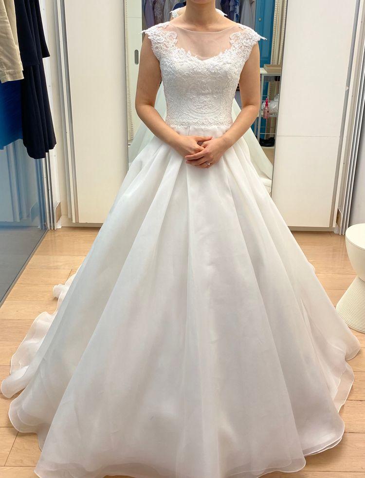 シンプルな王道プリンセスドレス