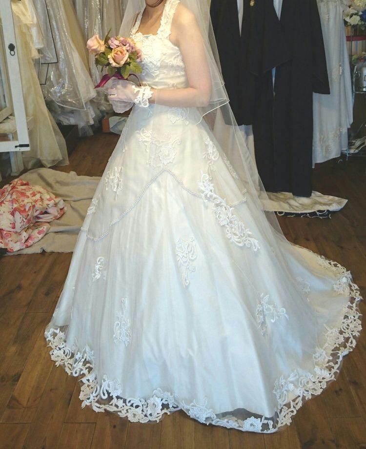 念願のアンティークドレス