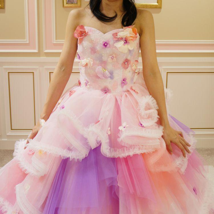 お姫様のような可愛いドレス