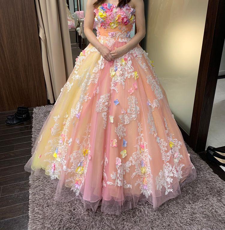 可愛らしい雰囲気のドレス