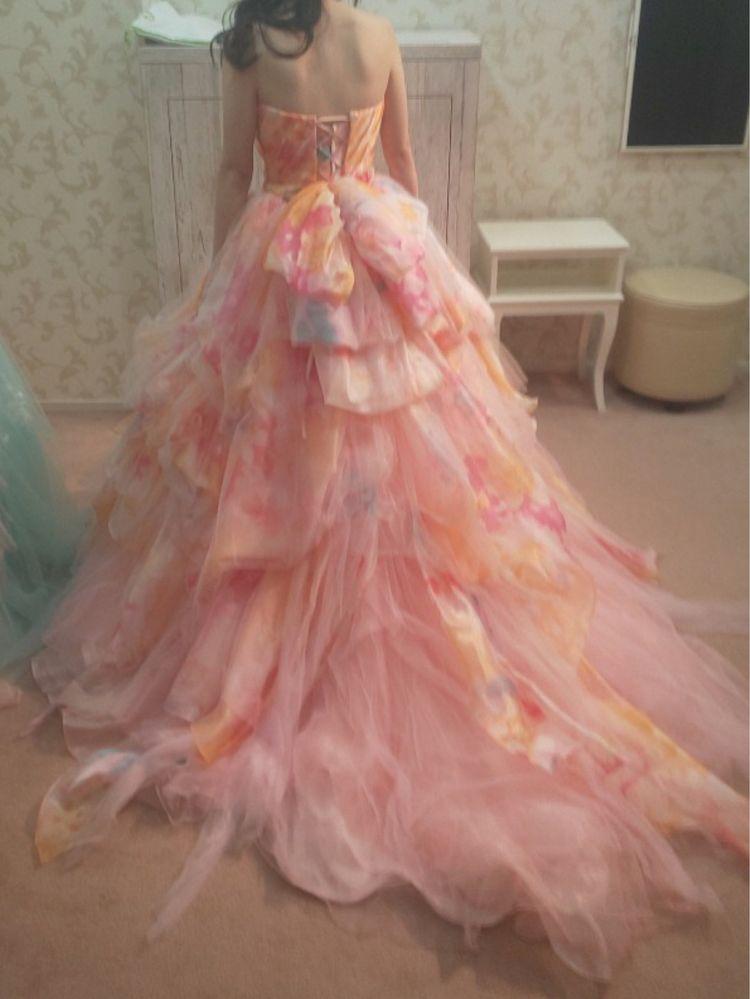 ふわふわお花ドレス