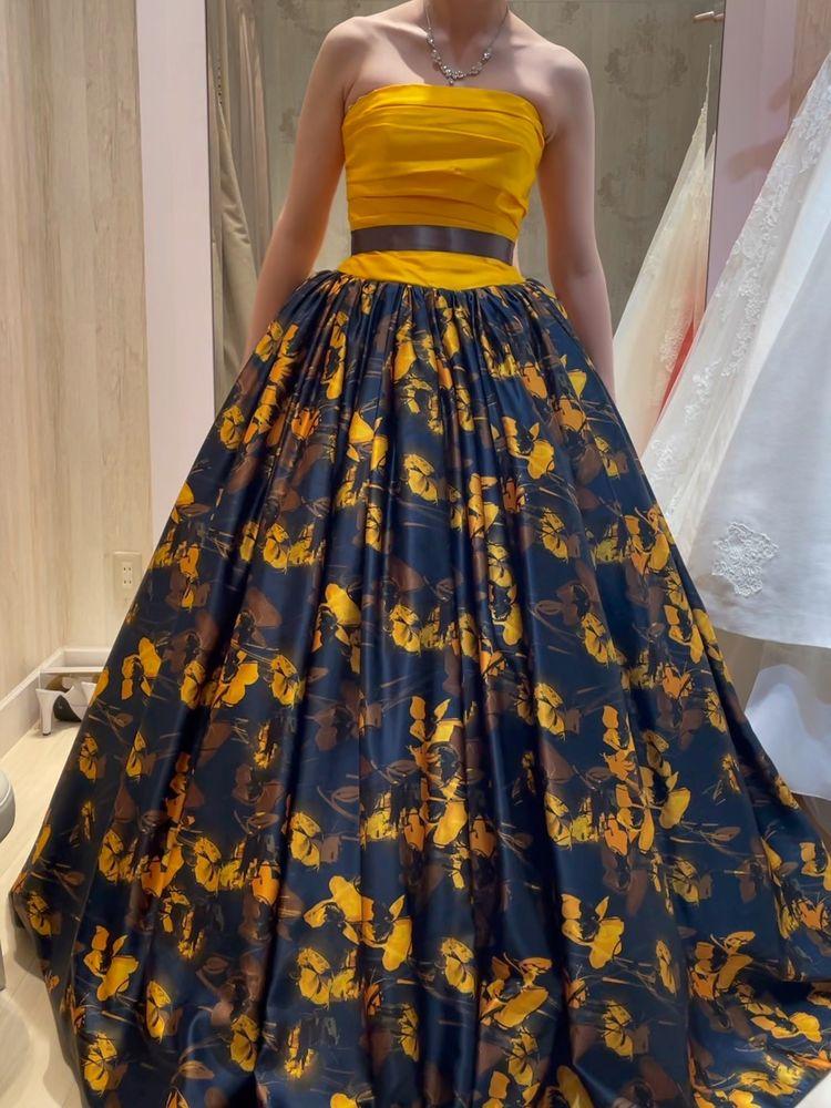 ハチさんっぽいドレス