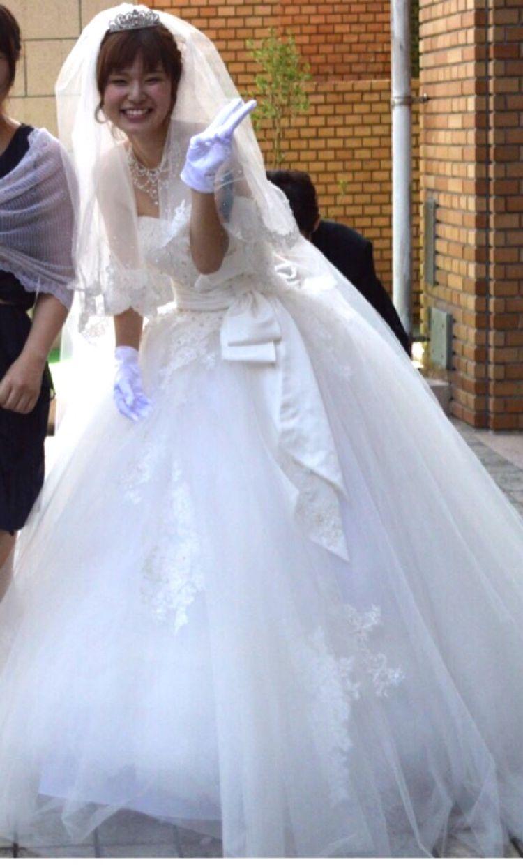 挙式直前で決めたお気に入りのドレス