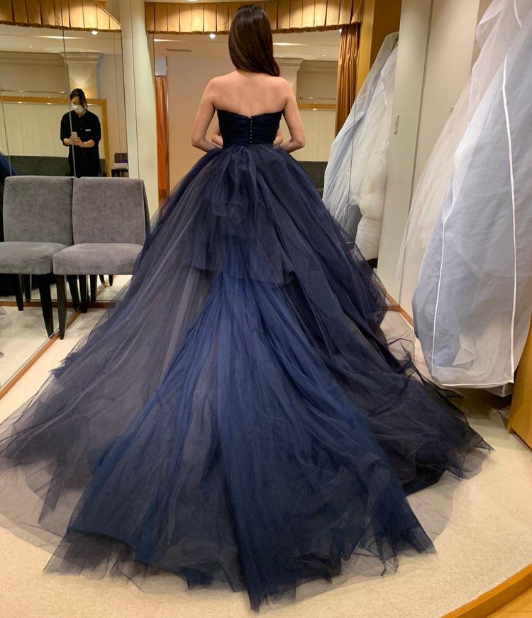 色味が綺麗なドレス