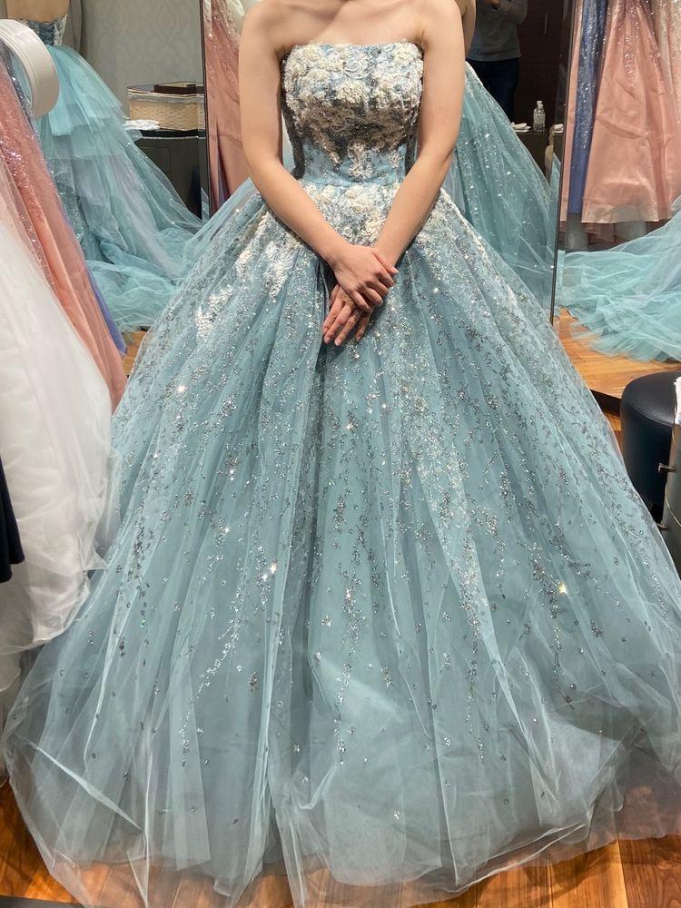 ゴージャスなドレス
