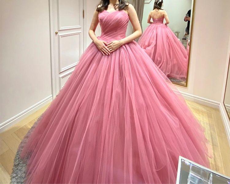 細見えするドレス