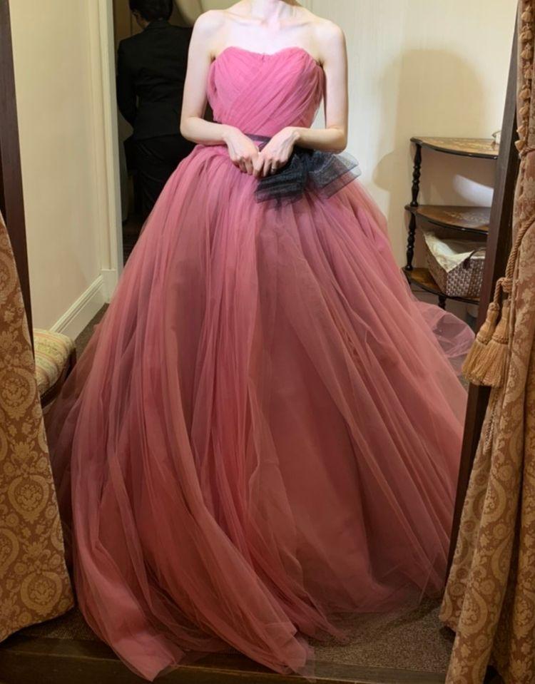ふわっふわなドレス