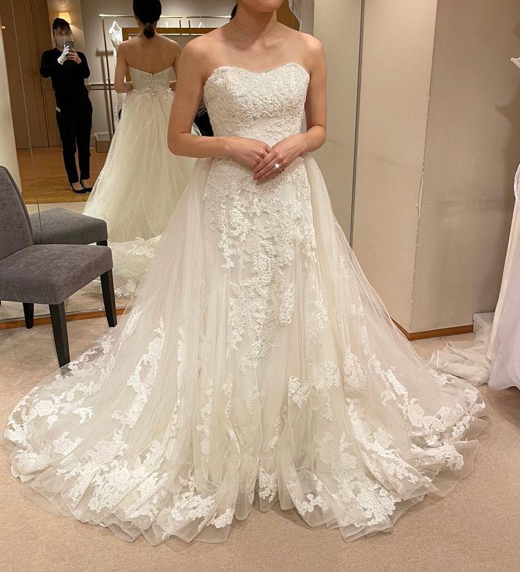 2wayタイプのキュートなドレス