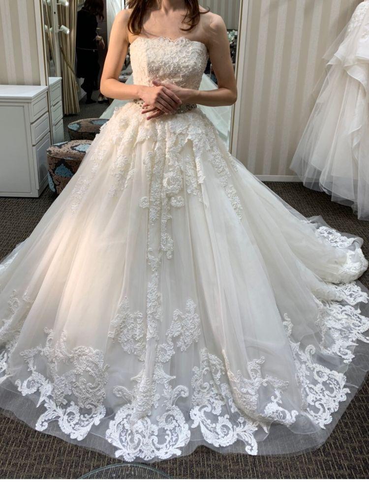 かわいい王道プリンセスドレス