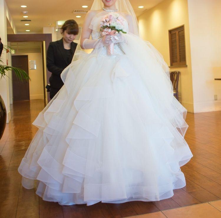 最高のウェディングドレス!