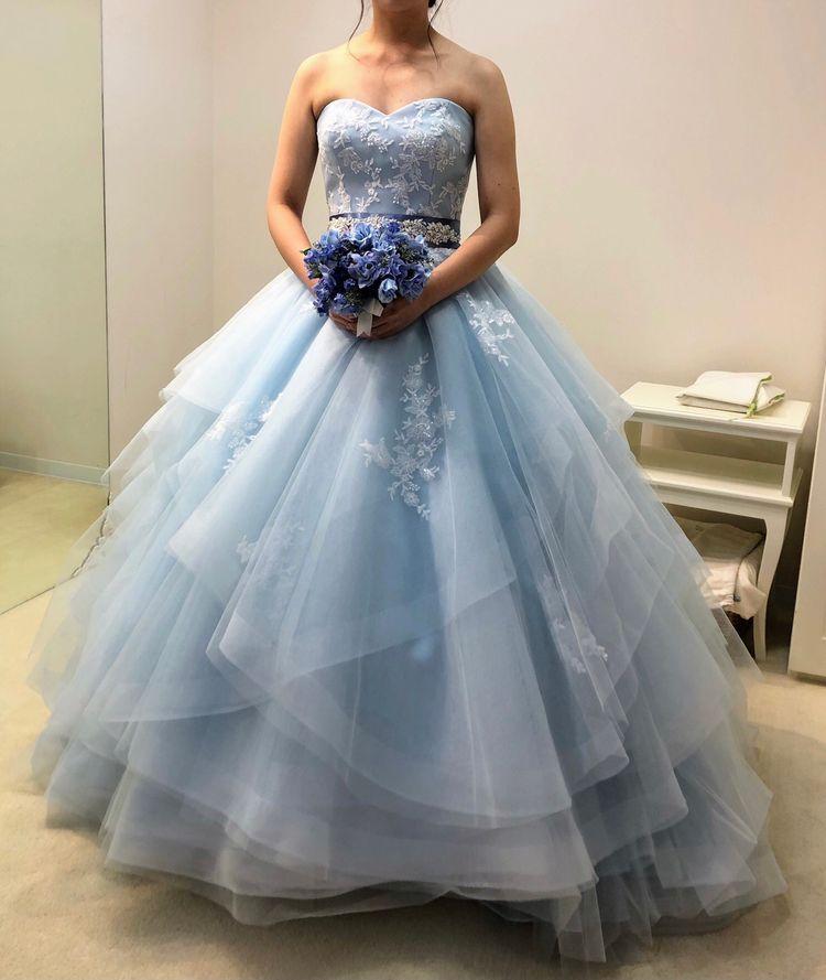 色んなパターンを楽しめるドレス
