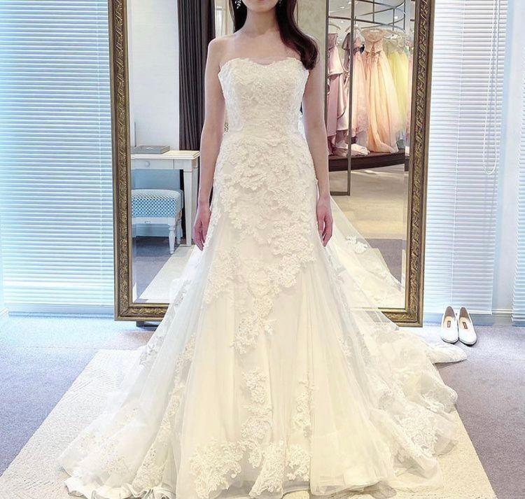 豪華なソフトマーメイドラインドレス