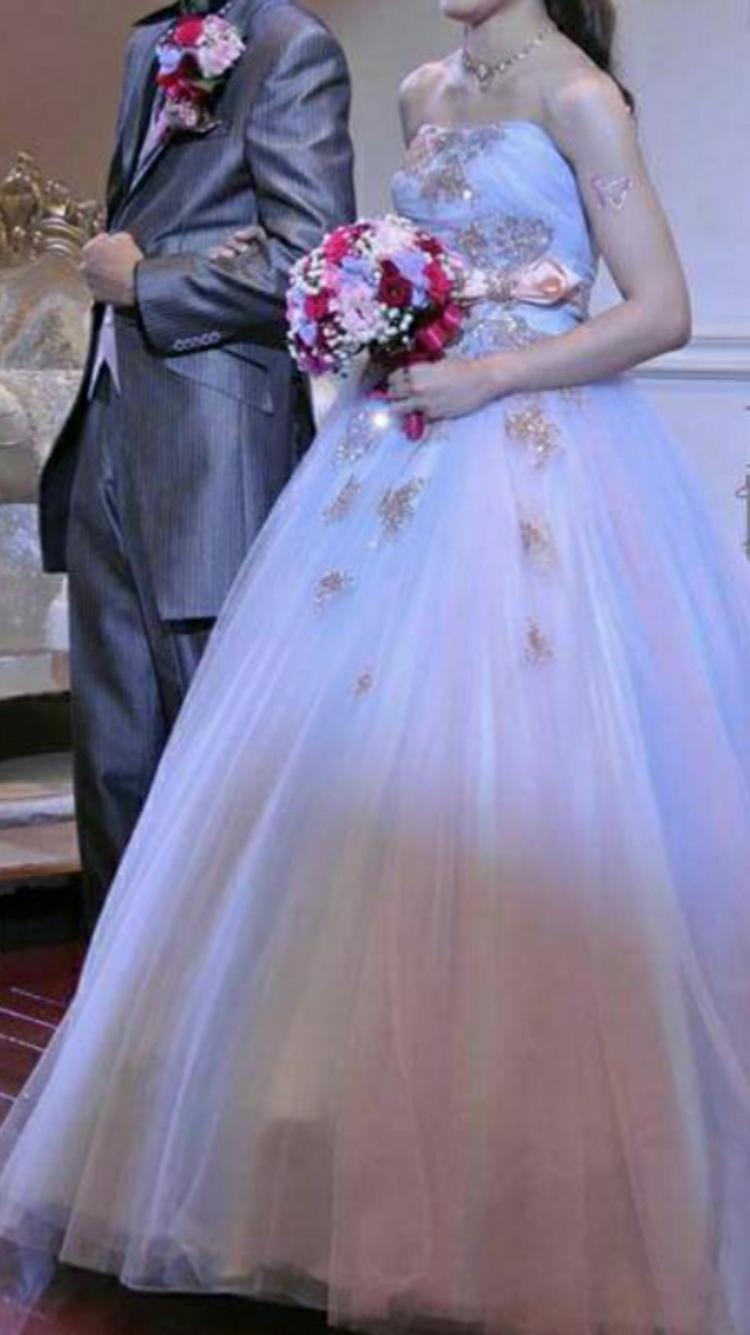 着たかったチュールのドレス