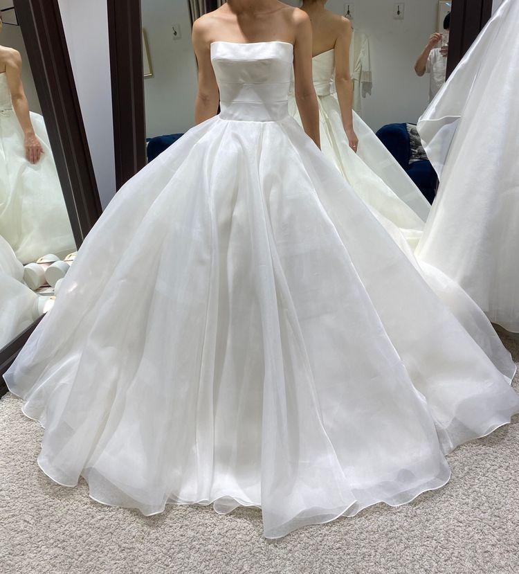 シンプルプリンセスドレス