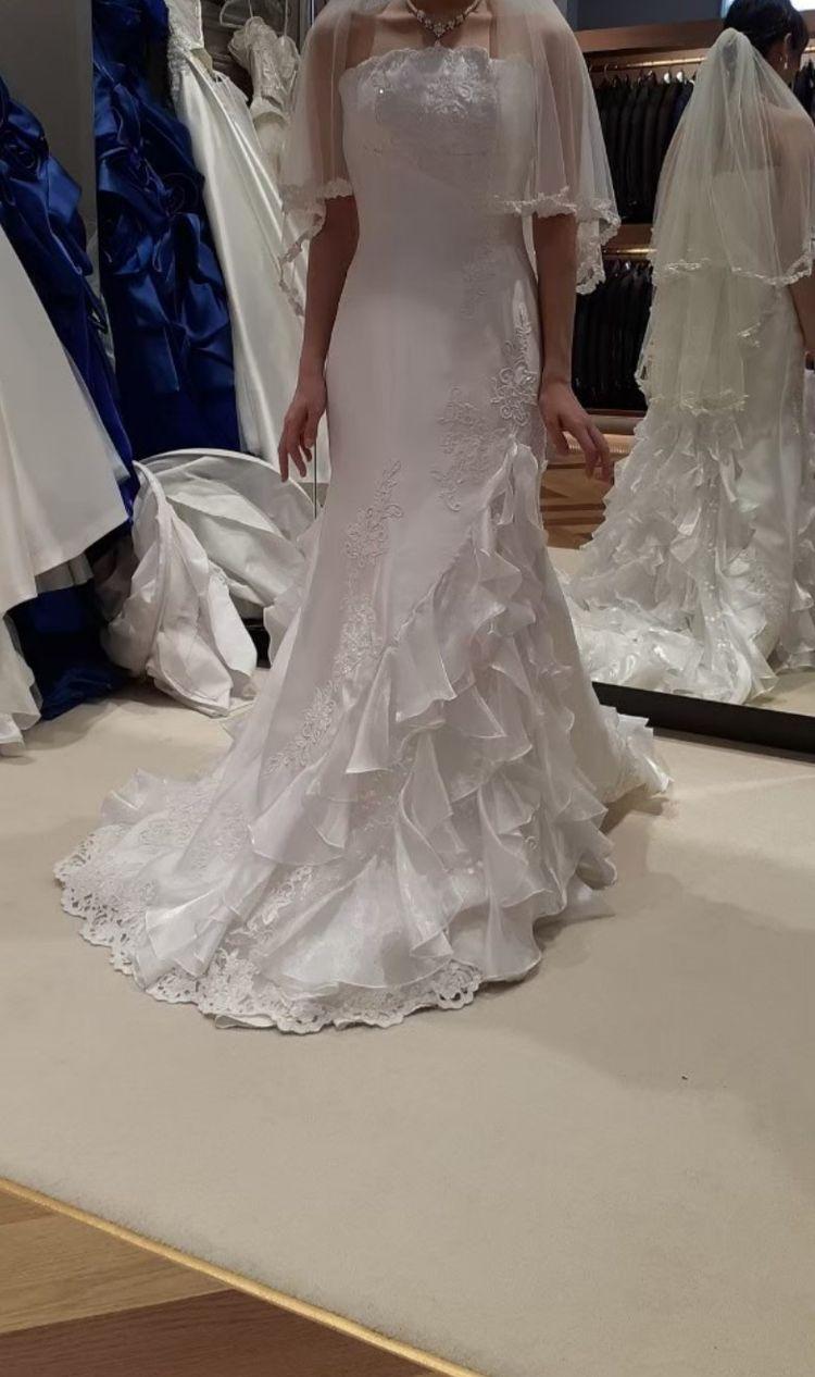 定番のマーメイドドレス