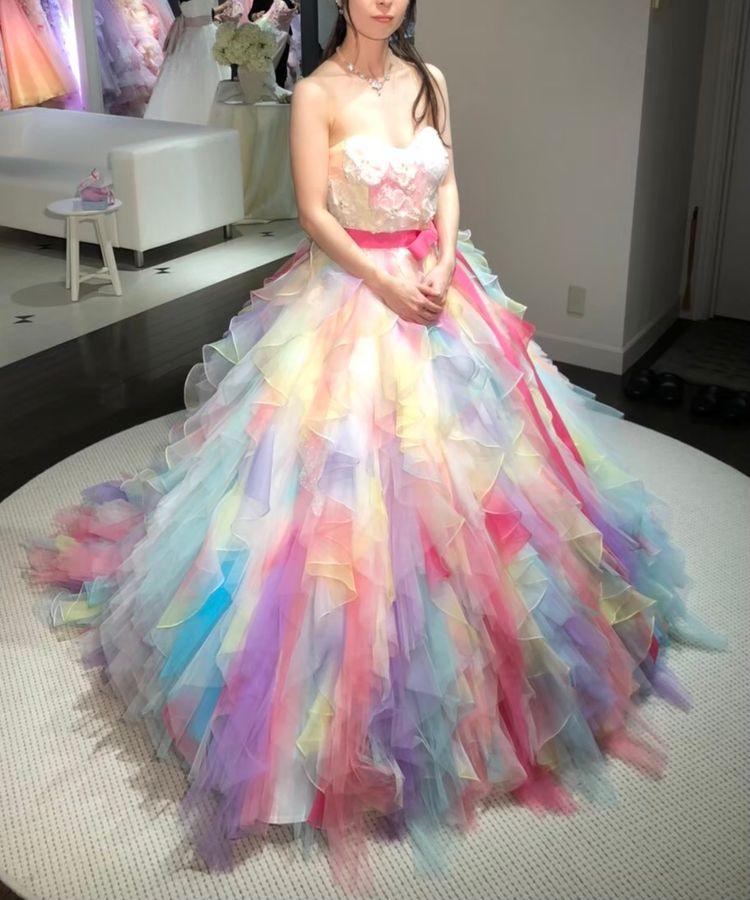 華やかで可愛いドレス