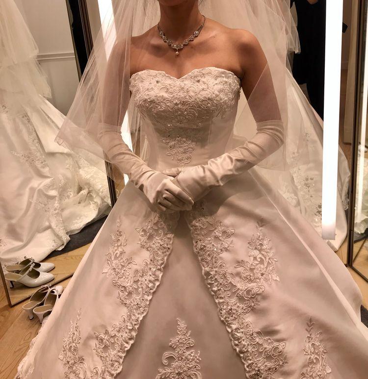 2wayで着られるクラシックなドレス