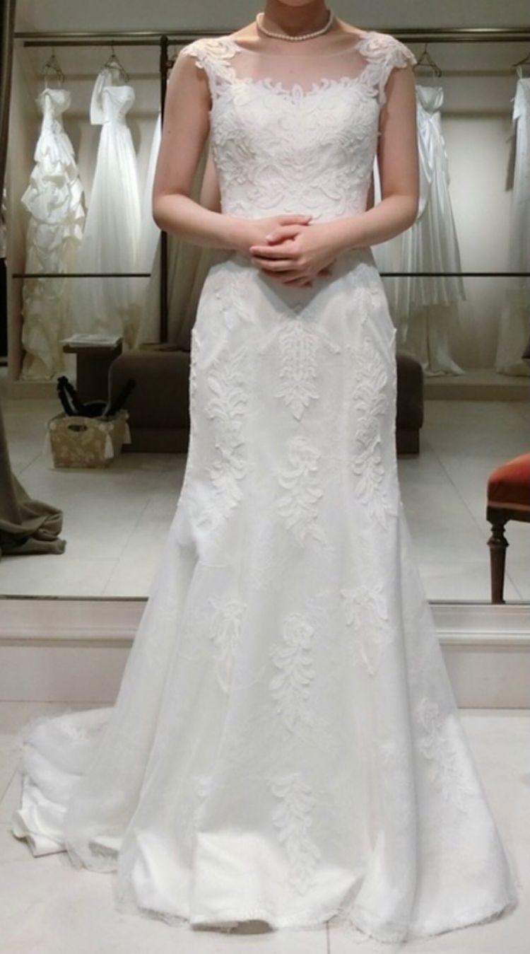 上品なマーメイドドレス