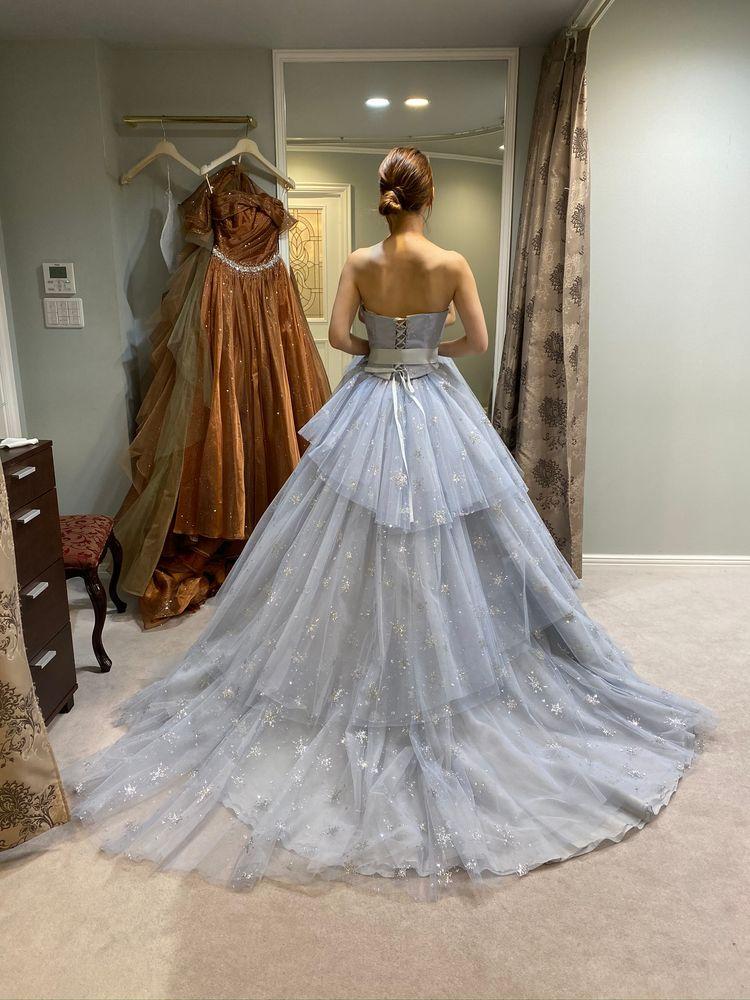 キヨコハタの雪ドレス