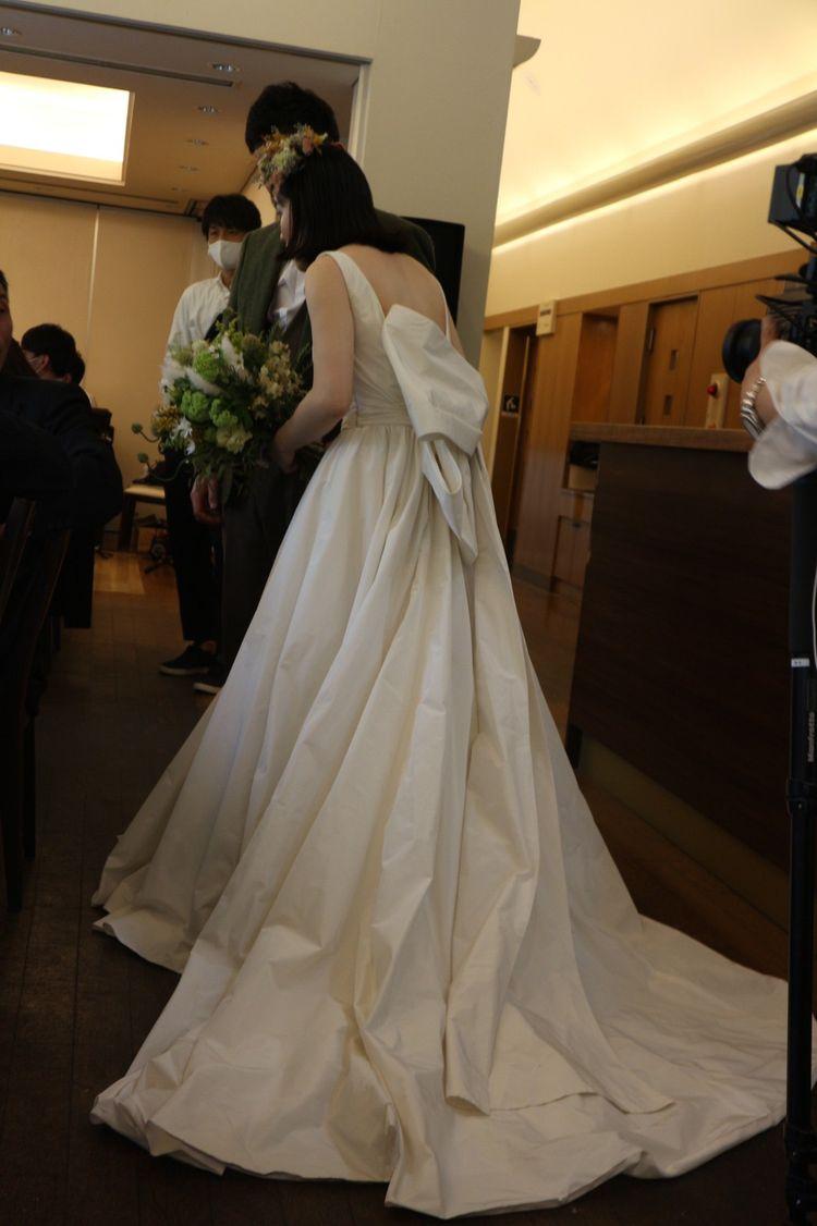 ドレスのデザインは大満足!