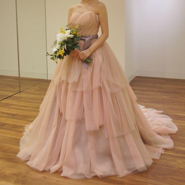 大人可愛い雰囲気のドレス