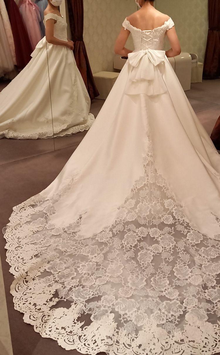 全体的に可愛いドレス