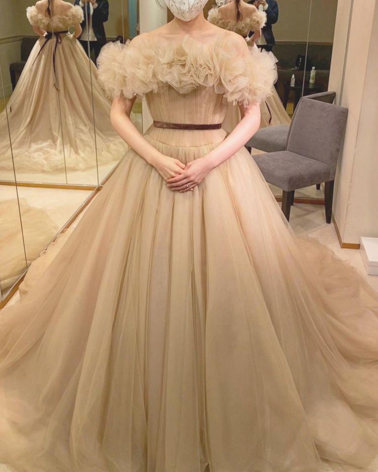 ふわふわドレス