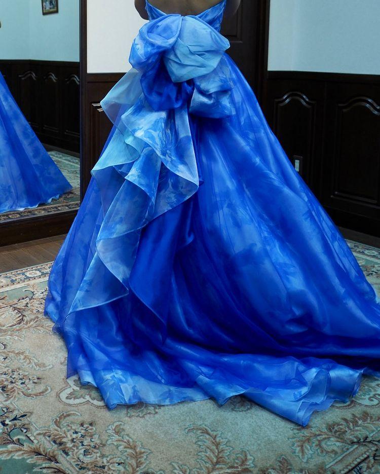 スッキリしたドレス