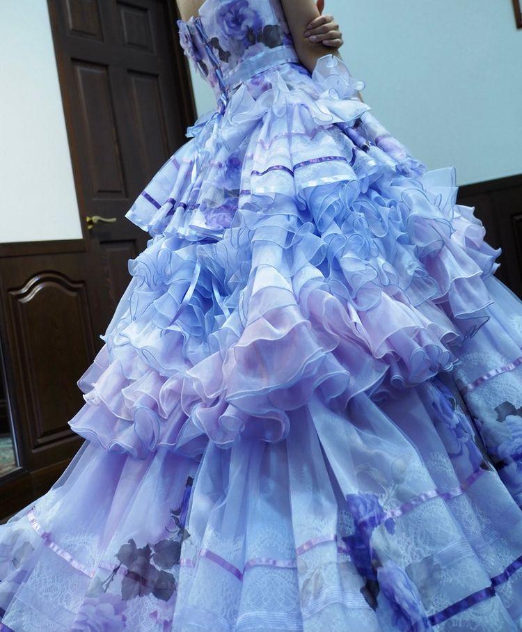 フリル好きにおすすめドレス