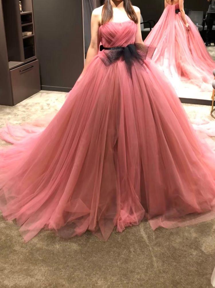 可愛い王道のピンクドレス