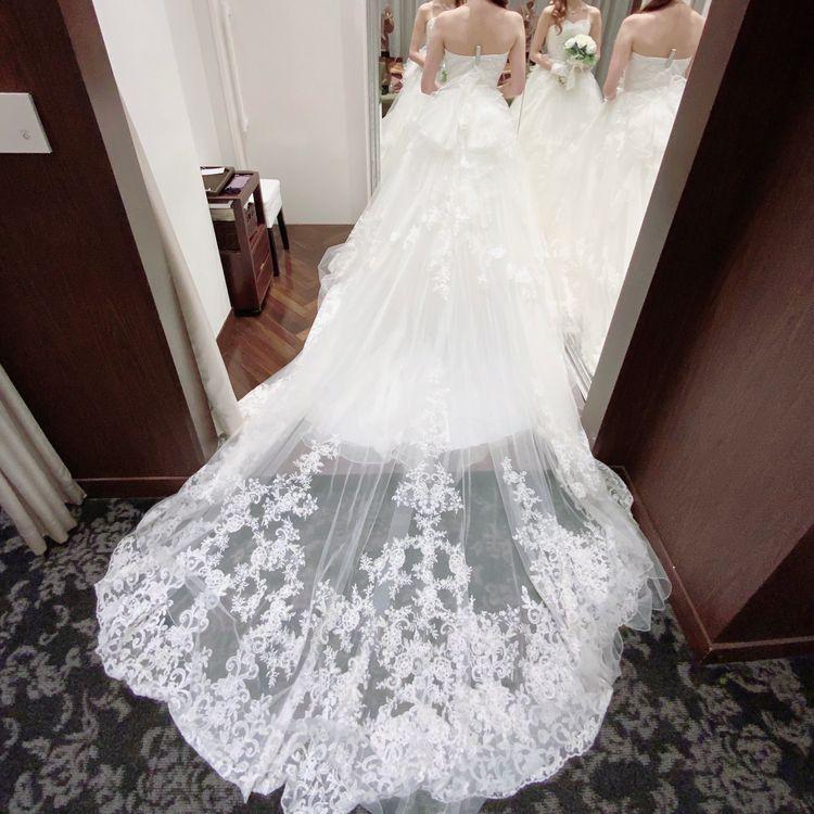 フワフワで可愛いドレス