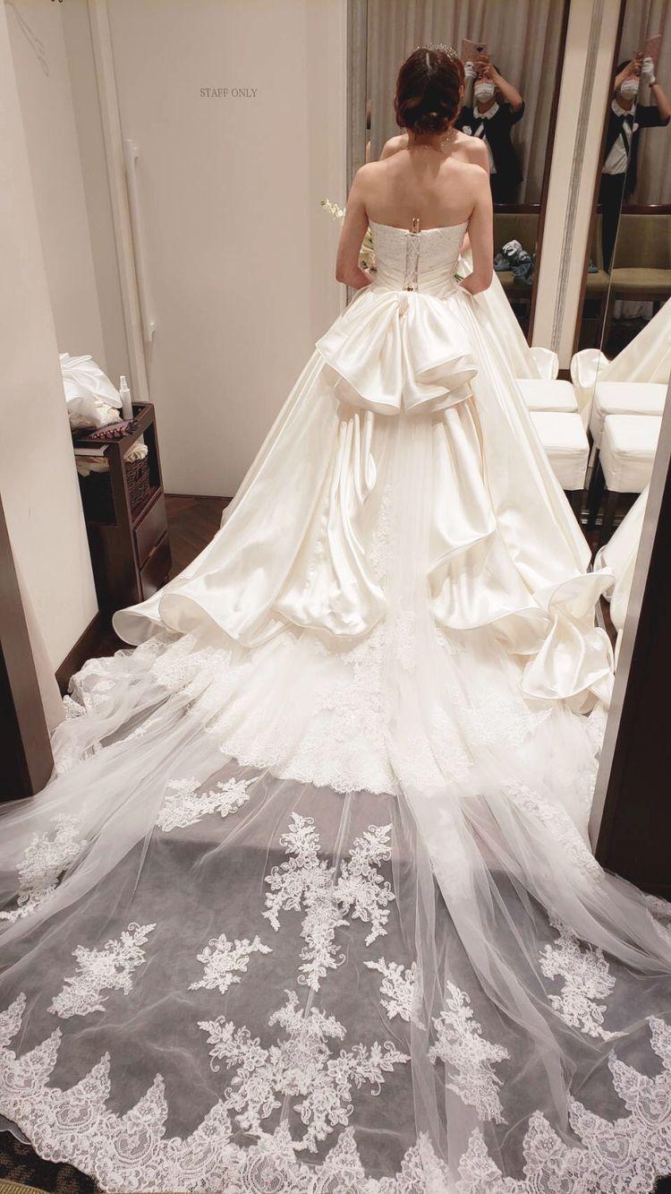 裾が可愛いドレス