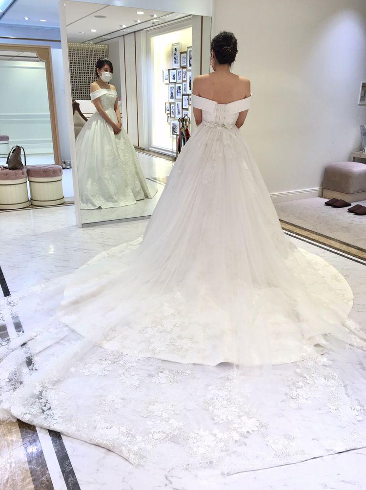 2WAYタイプの王道ドレス