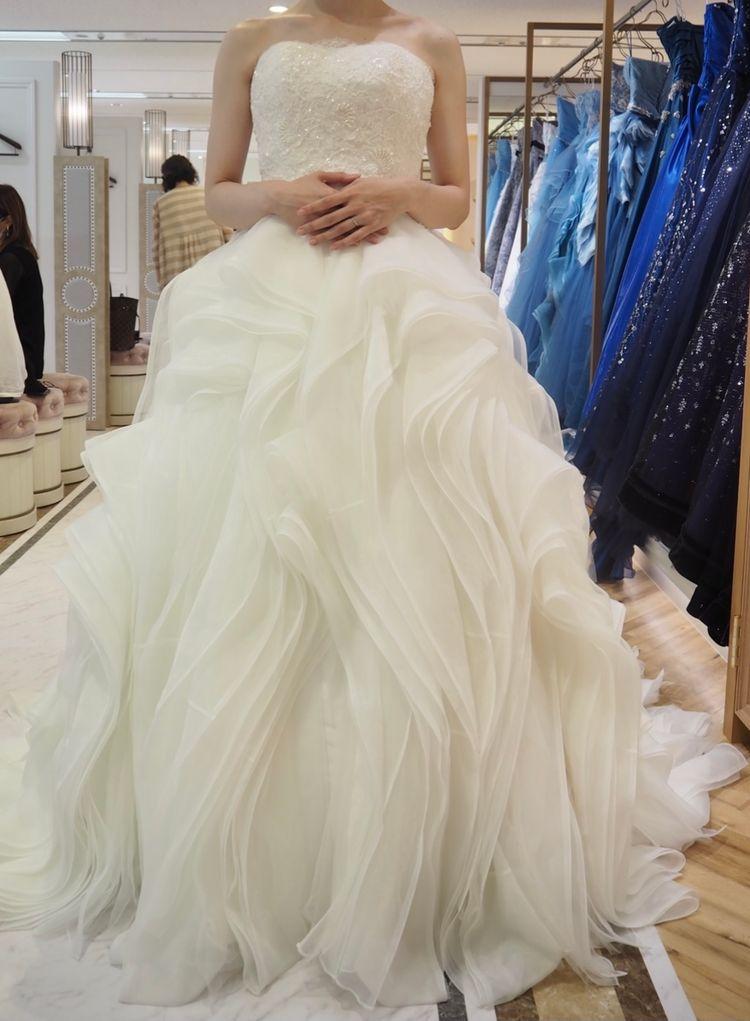 バーゼルのウェディングドレス