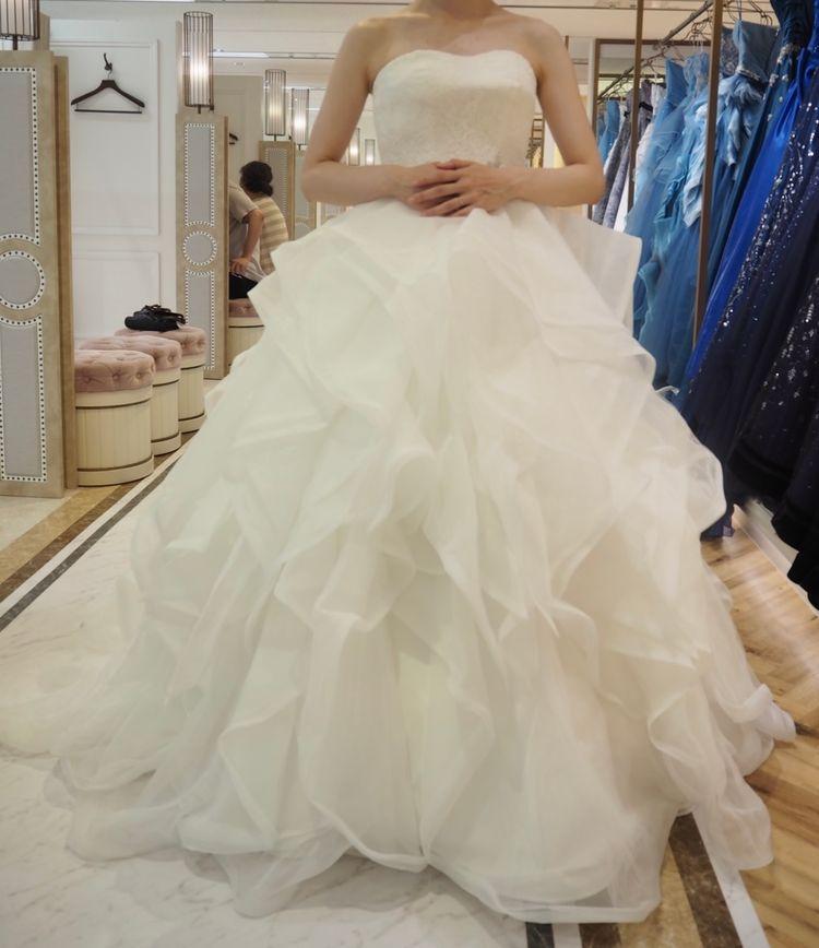 フワフワドレス
