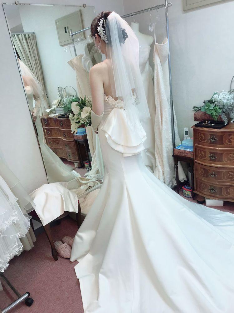 流石マーメイドドレス専門店
