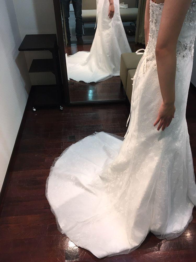華やかなマーメイドドレス