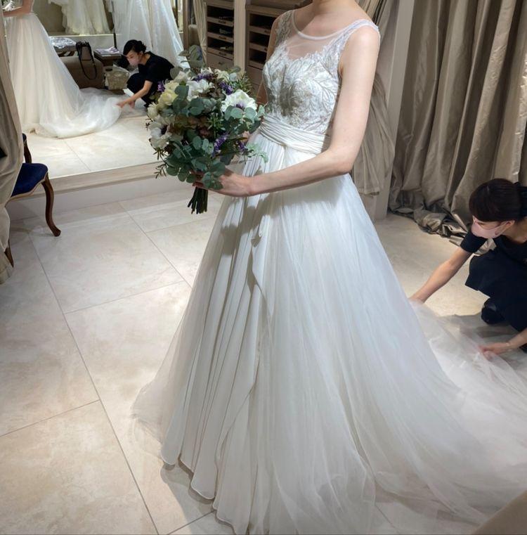 二段階で楽しめるドレス