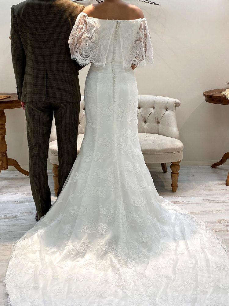形が綺麗なマーメイドドレス