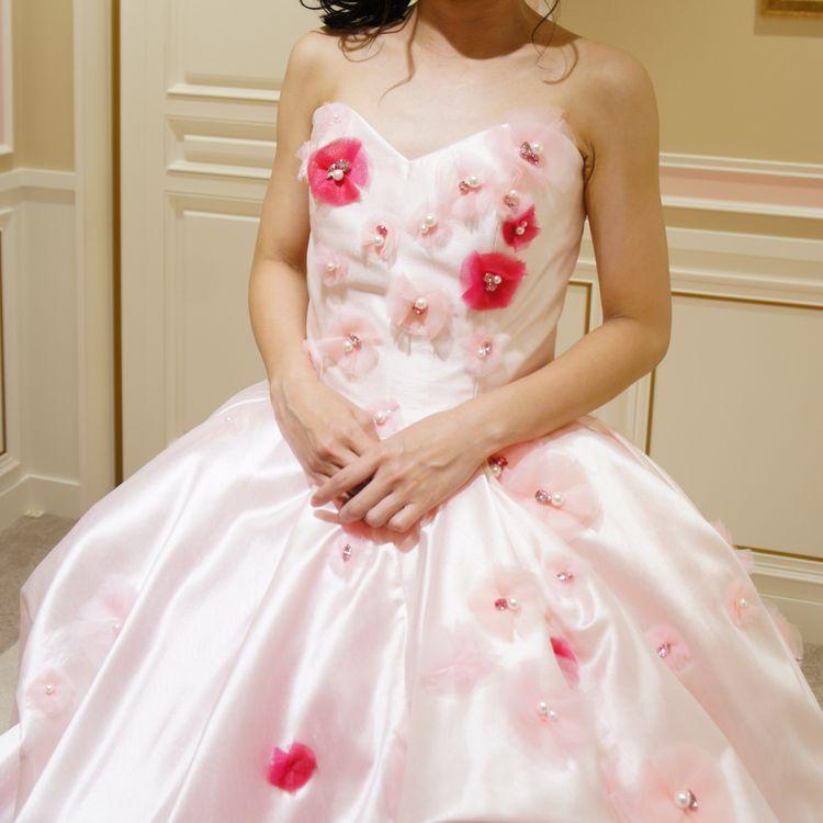 ミニドレスにもなる可愛いドレス