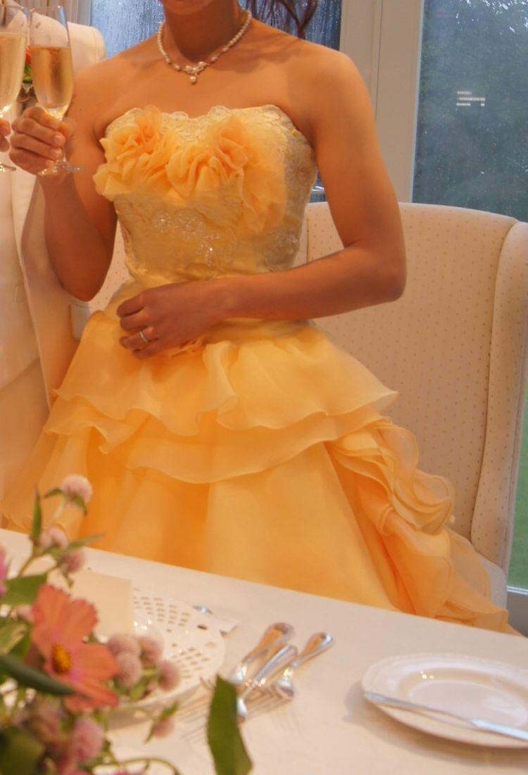 プリンセスのようなドレス