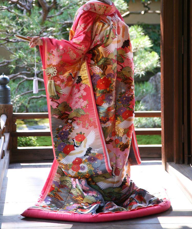 京都のお寺で和装前撮り撮影