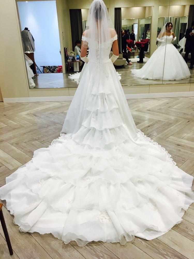 綺麗な一目惚れドレス