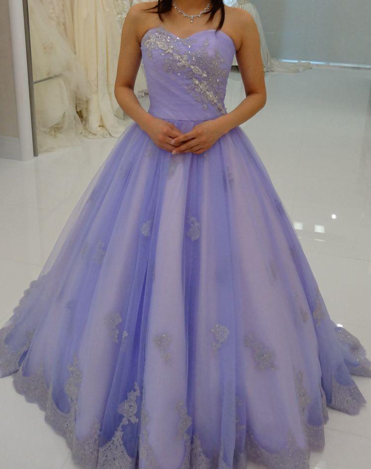 ラプンツェルのようなドレス