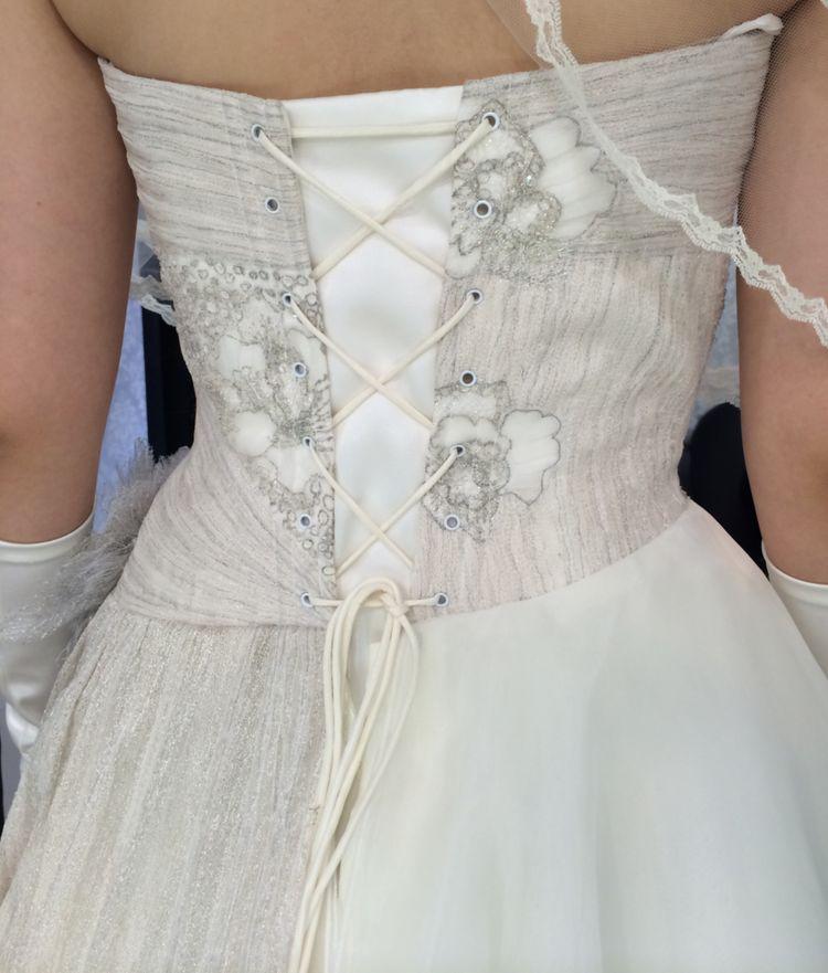 デザイナーズドレスで大満足☆